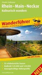PublicPress Wanderführer Rhein - Main - Neckar, Kulinarisch Wandern