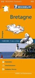 Michelin Karte Bretagne