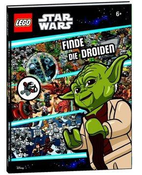 LEGO® Star Wars™ Wimmelbuch - Finde die Droiden (Mit Minifigur Spionage-Droide)
