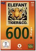 Elefant, Tiger & Co. 39 mit der 600. Folge, 1 DVD - Tl.39
