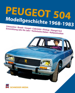 Peugeot 504. Modellgeschichte 1968-1983