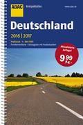 ADAC Kompaktatlas Deutschland 2016/2017 1:300 000