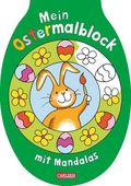 Mein Oster-Malblock mit Mandalas