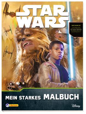 Star Wars™ - Das Erwachen der Macht: Mein starkes Malbuch