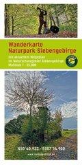 Wanderkarte Naturpark Siebengebirge