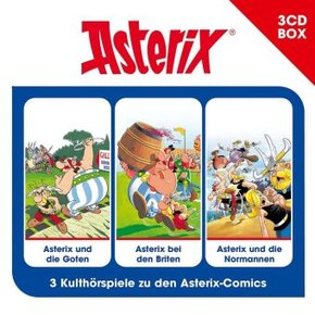 Asterix, Hörspielbox, 3 Audio-CDs - Vol.3