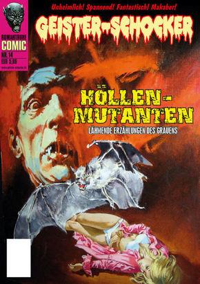 Geister-Schocker-Comic - Höllen-Mutanten