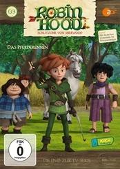 Robin Hood - Schlitzohr von Sherwood - Pferderennen, 1 DVD - Folge.3