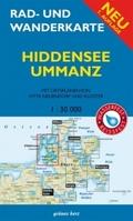 Rad- und Wanderkarte Hiddensee, Ummanz