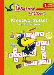 Kreuzworträtsel zum Lesenlernen (grün)