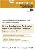 Direkte Demokratie und Partizipation in den österreichischen Gemeinden