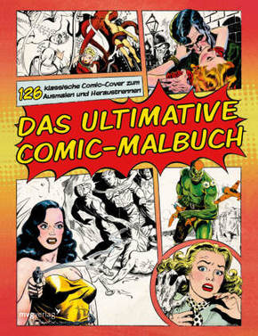 Das ultimative Comic-Malbuch - Malbuch für Erwachsene