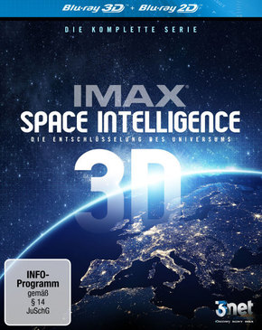 IMAX Space Intelligence 3D, 3 Blu-ray