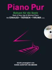 Piano Pur - Balsam für die Seele, m. MP3-CD