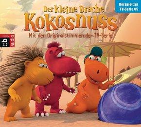 Der kleine Drache Kokosnuss - Hörspiel zur TV-Serie, Audio-CD - Tl.5