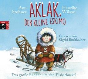 Aklak, der kleine Eskimo - Das große Rennen um den Eisbärbuckel, Audio-CD