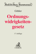 Ordnungswidrigkeitengesetz (OWiG), Kommentar