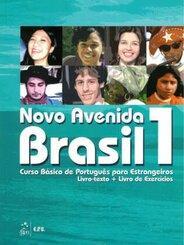 Novo Avenida Brasil, Ausgabe 2016: Livro texto + Livro de Exercícios + Audio-CD