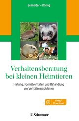 Verhaltensberatung bei kleinen Heimtieren