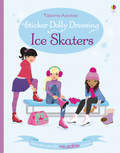 Sticker Dolly Dressing - Ice Skaters
