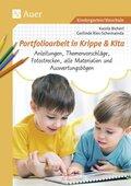 Portfolioarbeit in Krippe und Kita, m. CD-ROM