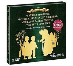 Märchenhörspiele nach den Brüdern Grimm, 2 Audio-CD - Box.1