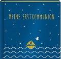 Meine Erstkommunion, Eintragalbum, Satin blau