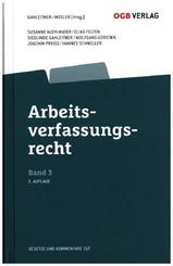 Arbeitsverfassungsrecht (f. Österreich) - Bd.3