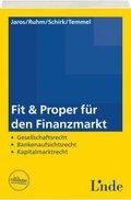 Fit & Proper für den Finanzmarkt