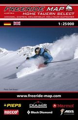 Freeride Map Hohe Tauern Select / Ankogel, Gastein, Heiligenblut, Mölltaler Gletscher