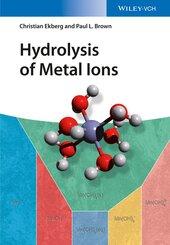 Hydrolysis of Metal Ions, 2 Vols.