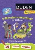 3-Minuten-Leserätsel für Erstleser - Einfach magisch