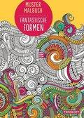 Mustermalbuch - Fantastische Formen