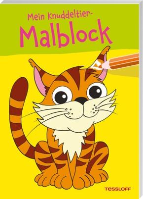 Mein Knuddeltier-Malblock