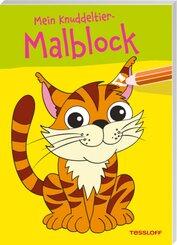 Mein Knuddeltier-Malblock (Tiger)