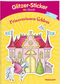 Glitzer-Sticker Malbuch: Prinzessinnen-Schloss