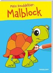 Mein Knuddeltier-Malblock (Schildkröte)