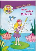 Meine Elfen-Welt - Rosarotes Malbuch