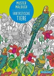 Mustermalbuch - Fantastische Tiere
