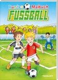 Buntes Malbuch Fußball