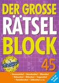 Der große Rätselblock - Bd.45