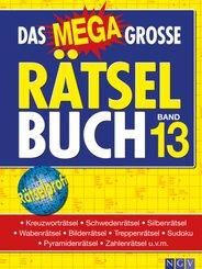 Das megagroße Rätselbuch - Bd.13