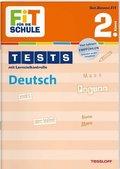 Tests mit Lernzielkontrolle. Deutsch 2. Klasse