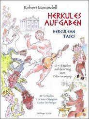 Herkulesaufgaben, für Gitarre