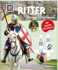 Ritter - Was ist Was, Rätseln und Stickern