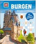 Burgen - Was ist Was, Rätseln und Stickern
