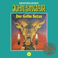 John Sinclair, Tonstudio Braun - Der Gelbe Satan, Audio-CD - Tl.1