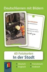 Deutschlernen mit Bildern: In der Stadt, Fotokarten