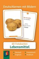 Deutschlernen mit Bildern: Lebensmittel, Fotokarten