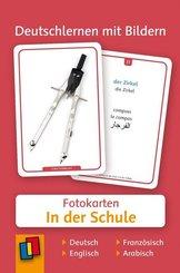 Deutschlernen mit Bildern: In der Schule, Fotokarten